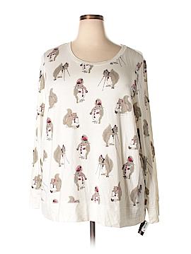 Style&Co Long Sleeve T-Shirt Size 3X (Plus)