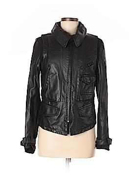 Lia Faux Leather Jacket Size M