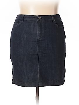 Gloria Vanderbilt Denim Skirt Size 14