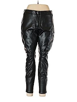 H&M Faux Leather Pants Size 14