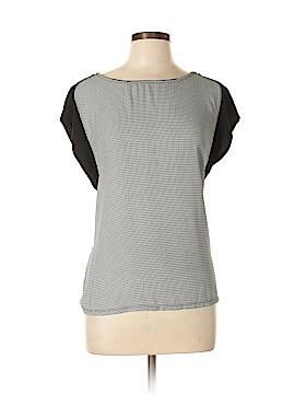 Harlowe & Graham Short Sleeve Blouse Size L