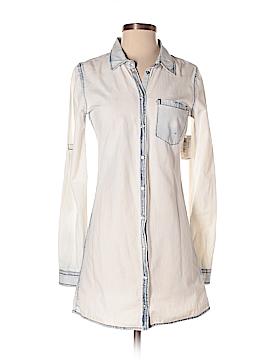 Buffalo 3/4 Sleeve Button-Down Shirt Size S