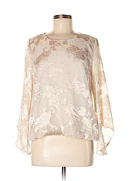 Alfani Long Sleeve Blouse Size M (Petite)