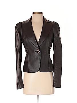 Leifsdottir Leather Jacket Size 2