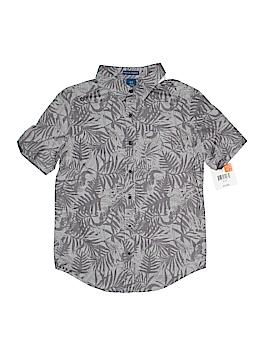 Falls Creek Short Sleeve Button-Down Shirt Size 8 - 10