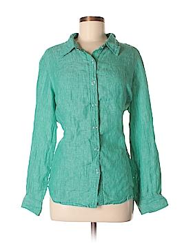 Company Ellen Tracy Long Sleeve Button-Down Shirt Size XL (Petite)