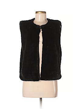 J. Crew Factory Store Faux Fur Vest Size M