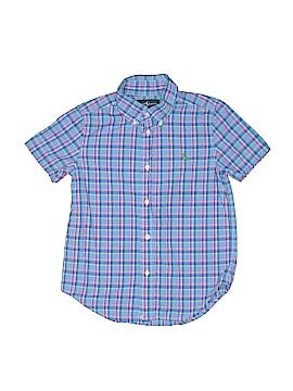 Ralph Lauren Short Sleeve Button-Down Shirt Size 5T