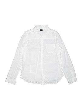 Gap Kids Long Sleeve Button-Down Shirt Size 10