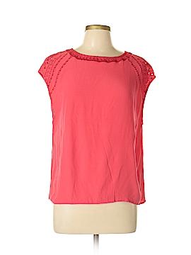 Collective Concepts Short Sleeve Blouse Size L