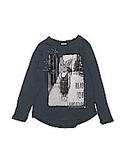 Zara Girls Long Sleeve T-Shirt Size 8