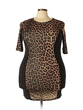Club L 3/4 Sleeve Top Size 22 (Plus)