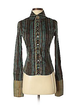 Karen Millen Long Sleeve Button-Down Shirt Size 4