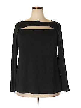 Eloquii Long Sleeve Top Size 20 (Plus)