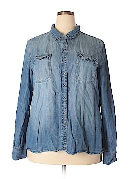 Buffalo by David Bitton Long Sleeve Button-Down Shirt Size XXL
