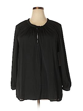 14th & Union 3/4 Sleeve Blouse Size 1X (Plus)