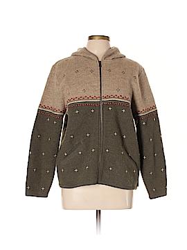 Woolrich Zip Up Hoodie Size L