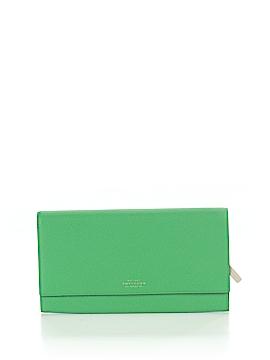 Smythson Leather Wallet One Size