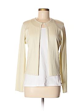 Nicole Miller New York City Silk Cardigan Size M