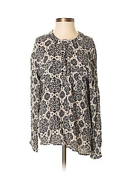 Sun & Shadow Long Sleeve Button-Down Shirt Size S