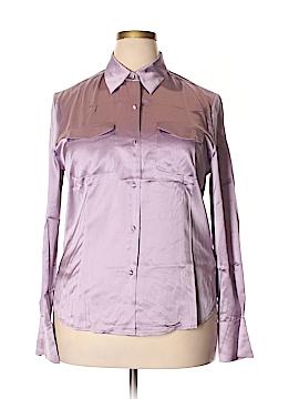 Talbots Long Sleeve Silk Top Size 18 (Plus)