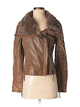 State & Lake Leather Jacket Size S