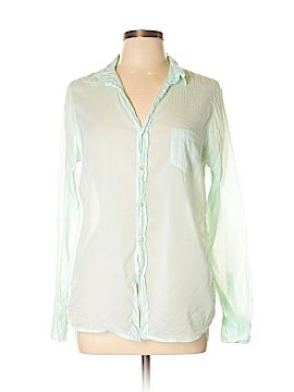 Sundry Long Sleeve Button-Down Shirt Size Lg (3)