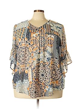 Style&Co 3/4 Sleeve Blouse Size XXL