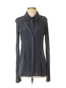 MONORENO Long Sleeve Button-Down Shirt Size M
