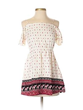 H&M Loves Coachella Short Sleeve Blouse Size 4