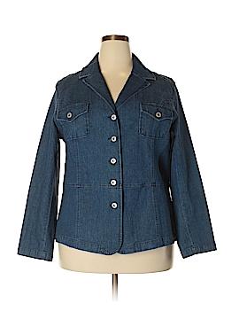 Sag Harbor Denim Jacket Size 1X (Plus)