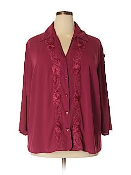 Covington 3/4 Sleeve Blouse Size 24 - 26 (Plus)