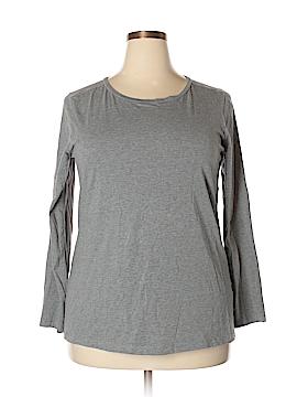Sejour Long Sleeve T-Shirt Size 1X (Plus)