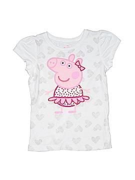 Peppa Pig 3/4 Sleeve T-Shirt Size 6
