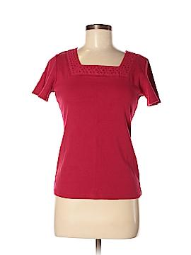 Karen Scott Short Sleeve Top Size S