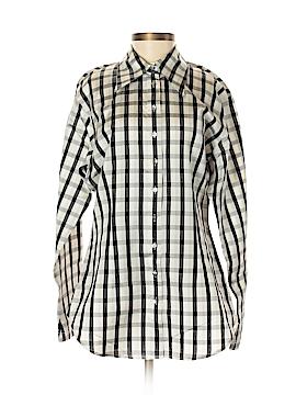 Classiques Entier Long Sleeve Silk Top Size S