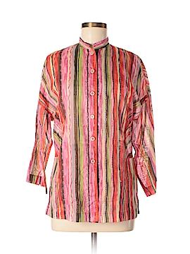 Yansi Fugel 3/4 Sleeve Button-Down Shirt Size XS