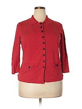 Judith Hart Silk Cardigan Size 1X (Plus)