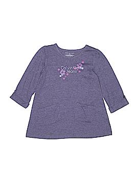 CALVIN KLEIN JEANS Long Sleeve T-Shirt Size 6X