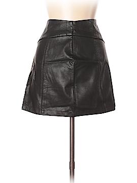Zara TRF Faux Leather Skirt Size M