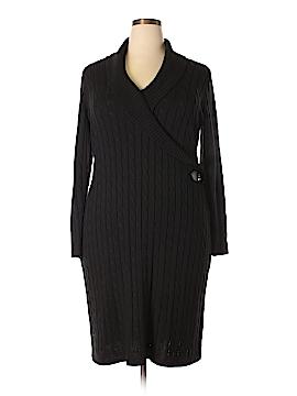 Chaps Casual Dress Size 1X (Plus)