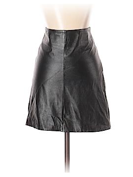 Blanc Noir Leather Skirt Size 2
