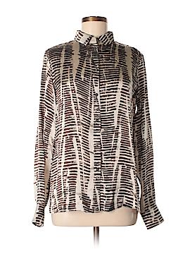 'S Max Mara Long Sleeve Silk Top Size 10