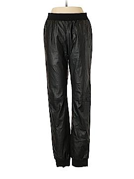BCBGMAXAZRIA Leather Pants Size S