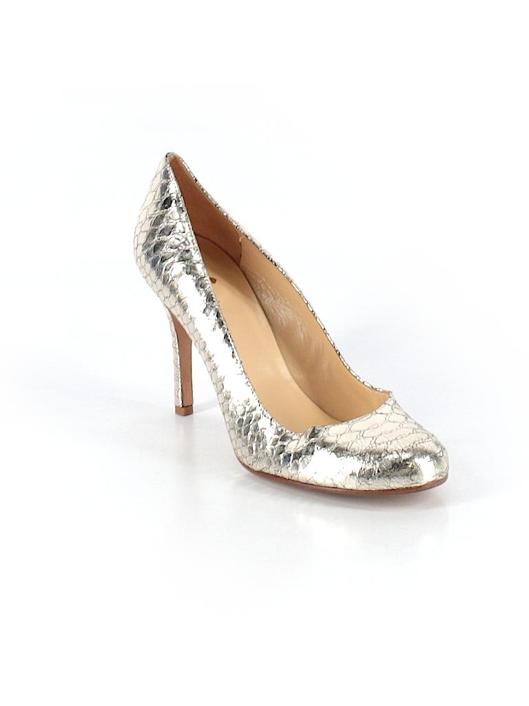 059ea6087f0f Kate Spade New York Metallic Gold Heels Size 9 - 80% off