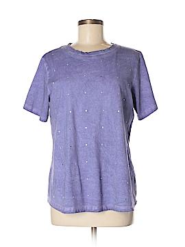 DG^2 by Diane Gilman Short Sleeve T-Shirt Size M