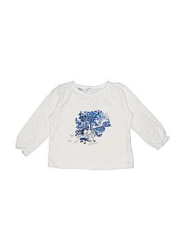 Petit Bateau Long Sleeve T-Shirt Size 18 mo