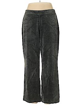Style&Co Sport Velour Pants Size 1X (Plus)