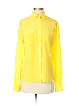 BODHI Long Sleeve Silk Top Size S