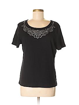 Karen Scott Short Sleeve Top Size M